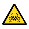 WW5 - SABS Poisonous Hazard Safety Sign