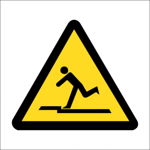 WW38 - SABS Uneven Surface Safety Sign