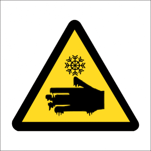 WW18 - SABS Cold Burns Safety Sign