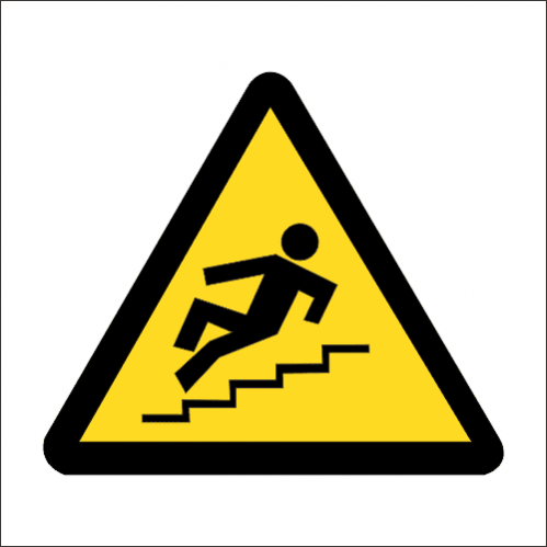 WW22 - SABS Slippery Steps Safety Sign