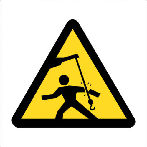WW24 - SABS Swinging Objects  Safety Sign