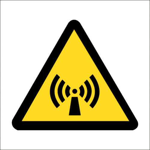 WW26 - SABS Non Ionizing Radiation Safety Sign