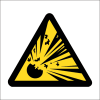 WW3 - SABS Explosive Hazard Safety Sign