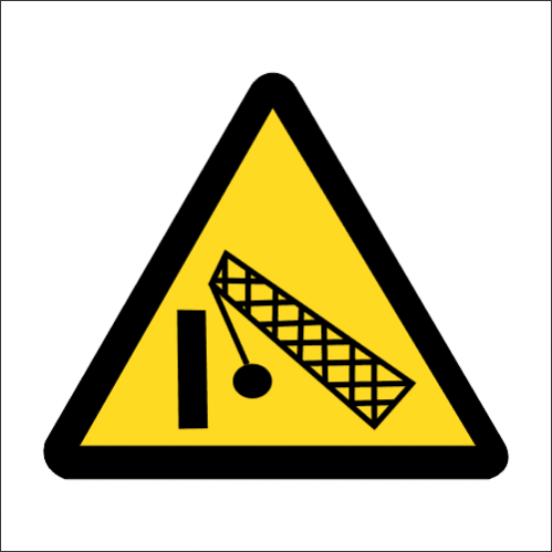 WW32 - SABS Demolition Area Safety Sign