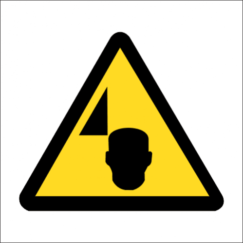 WW36 - SABS Mind Your Head Safety Sign