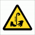 WW37 - Beware Of Pulley Safety Sign