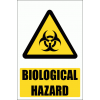 WW11E - Biological Hazard Explanatory Safety Sign