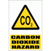 WW15E - Carbon Dioxide Explanatory Safety Sign