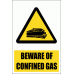 WW25E - Confined Gases Explanatory Safety Sign