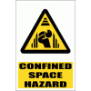 WW28E - Confined Space Hazard Explanatory Safety Sign