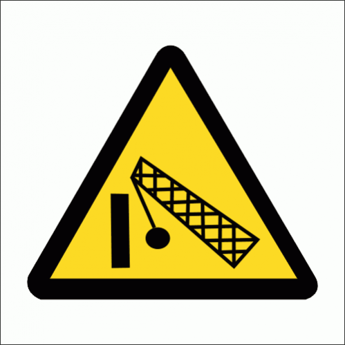 WW32 - Demolition Area Safety Sign
