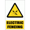 EL30 - Electric Fence Explanatory Safety Sign
