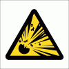 WW3 - Explosive Hazard Safety Sign