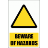 WW1E - General Hazard Explanatory Safety Sign