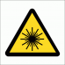 WW12 - Laser Hazard Safety Sign