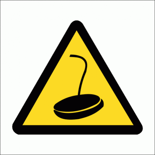 WW30 - Magnetic Crane Safety Sign