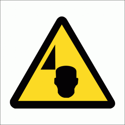 WW36 - Mind Your Head Safety Sign