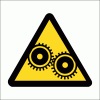 WW17 - Moving Machinery Safety Sign