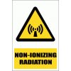 WW26E - Non Ionizing Radiation Explanatory Safety Sign