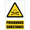 WW5E - Poisonous Substance Hazard Explanatory Safety Sign