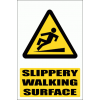WW16E - Slippery Walking Surface Explanatory Safety Sign