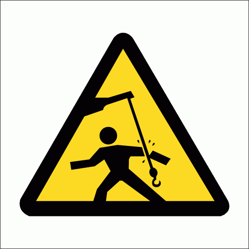 WW24 - Swinging Objects  Safety Sign