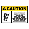 LD4 - Caution Ladder Sign