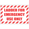 LD19 - Ladder For Emergency Use Sign