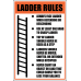 LD21 - Ladder Rules Sign