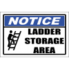 LD30 - Notice Ladder Storage Area Sign