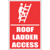 LD37 - Roof Ladder Access Sign