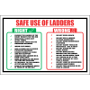 LD7 - Safe Use Ladders Sign