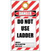 LDT6 - Danger Do Not Use Ladder Tag