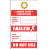 LDT8 - Ladder Safety Inspection Failed Tag