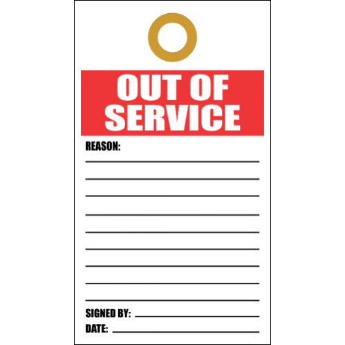 LDT4 - Out Of Service Tag