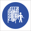 MV16 - SABS Safety Cage Safety Sign