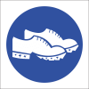 MV27 - SABS Conductive Shoes Safety Sign