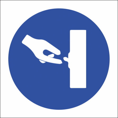 MV28 - SABS Switch Off When Not In Use Safety Sign