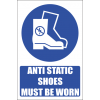 MA27E - Anti Static Shoes Safety Sign