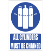 MA16E - Chained Cylinders Explanatory Safety Sign