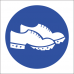 MV27 - Conductive Shoes Safety Sign