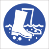 MA10 - Disinfect Boots Safety Sign