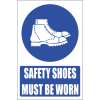 MV7E - Foot Protection Explanatory Safety Sign