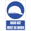 MV3E - Head Protection Explanatory Safety Sign