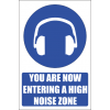 MA36 - High Noise Zone Safety Sign