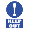 MA30 - Keep Out Safety Sign