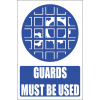 MA19E - Machine Guards Explanatory Safety Sign