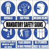 Mandatory Safety Signs