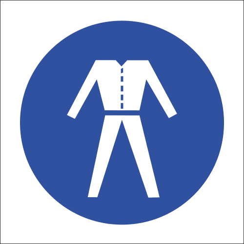MV20 - Overalls Safety Sign