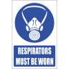 MV2E - Respiratory Protection Explanatory Safety Sign